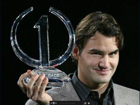 Roger Federer Number 1 Record