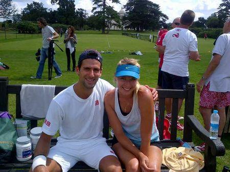 Maria Sharapova & Novak Djokovic 2