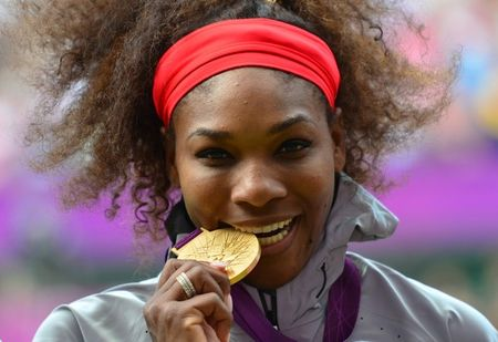 Serena Williams Olympics 2012 Winner g