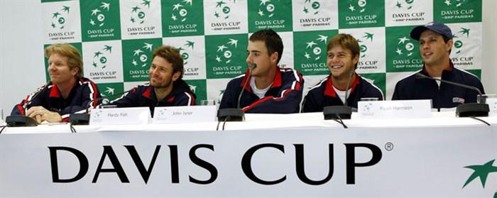 US Davis Cup Team 2012 1st R Win