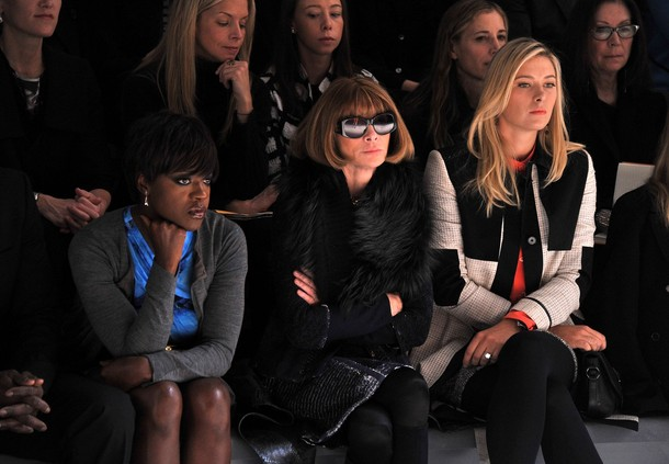 Maria Sharapova NYC Fashion Week 2012 1 g