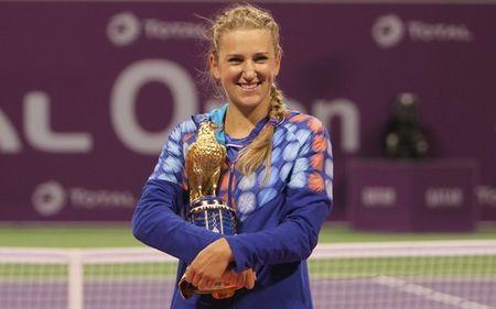 Victoria Azarenka Doha 2012 Winner g