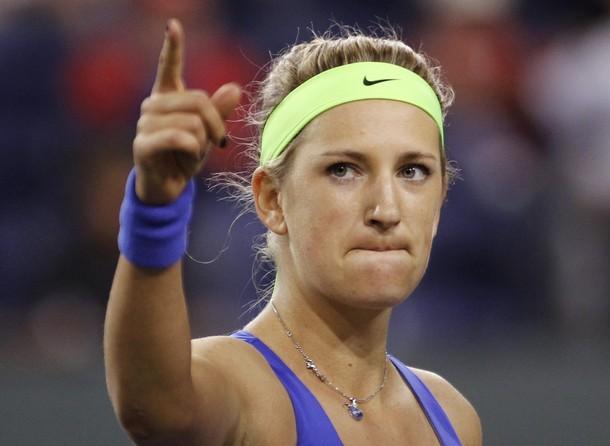 Victoria Azarenka Indian Wells 2012 Sf Win r