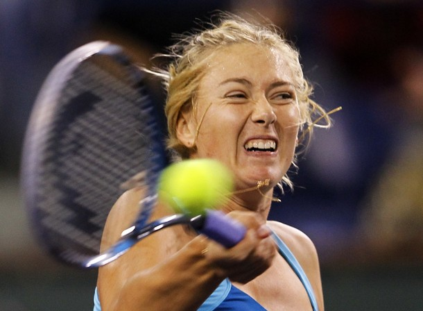Maria Sharapova Indian Wells 2012 Sf Win r