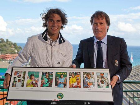 Rafael Nadal Gets Monte-Carlo Plaque