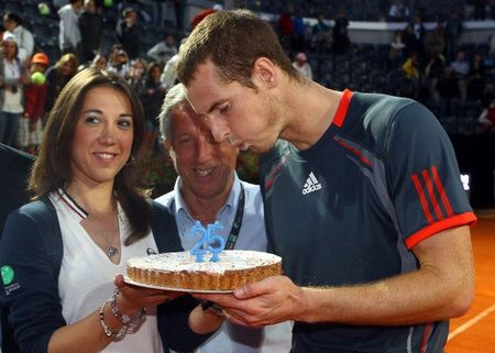 Andy Murray Rome 2012 Birthday fb
