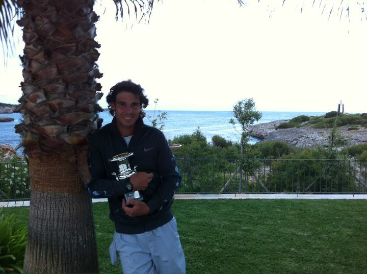 Rafael Nadal Rome 2012 Winner Fb