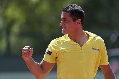 Nicolas Almagro Roland Garros 2012 3rd R Win r