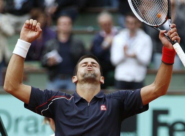 Novak Djokovic Roland Garros 2012 Qf Win g
