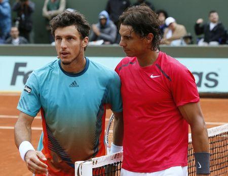 Rafael Nadal & Juan Monaco Roland Garros 2012 4th R