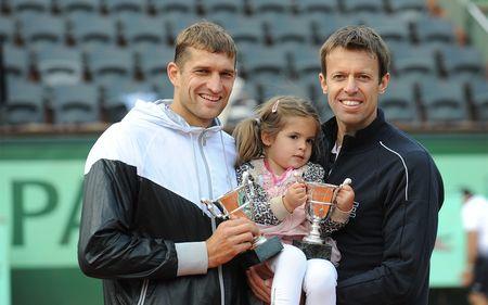 Max Mirnyi & Daniel Nestor Roland Garros 2012 Men's Doubles Winners fft