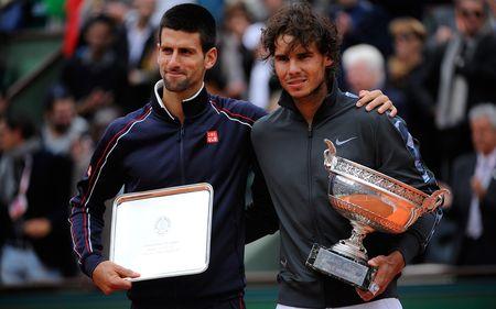 Rafael Nadal & Novak Djokovic Roland Garros 2012 Final fft