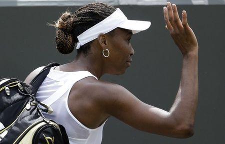 Venus Williams Wimbledon 2012 1st R Loss ap