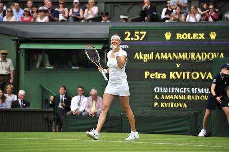 Petra Kvitova Wimbledon 2012 1st R Win g