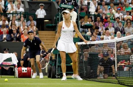 Caroline Wozniacki Wimbledon 2012 1st R Loss g