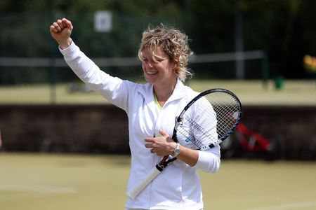 Kim Clijsters Wimbledon 2012 Practice g