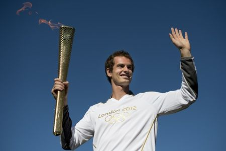 Andy Murray Olympic Torch g
