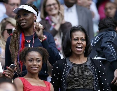 Venus Williams Michelle Obama Olympics