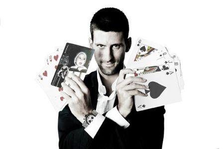 Novak Djokovic Olympic Tennis Photo