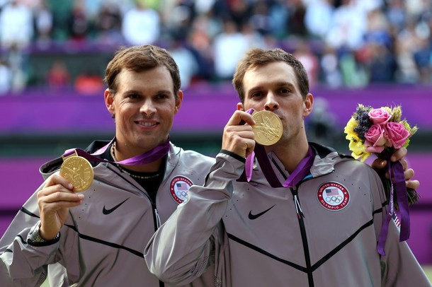 Bryan Brothers Olympic 2012 Men's Doubles Winners g