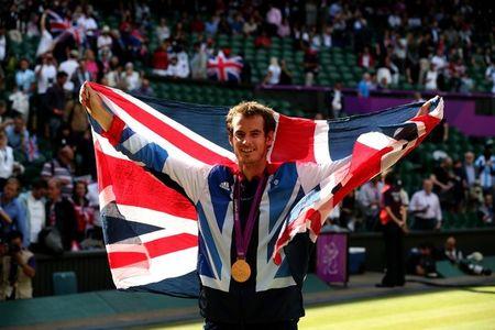 Andy Murray Olympics 2012 Winner g