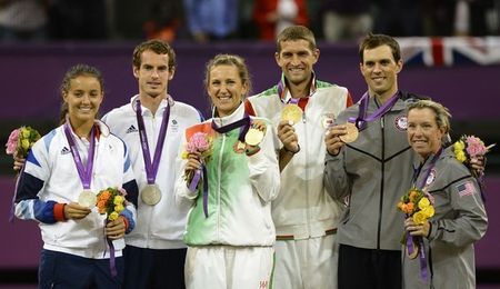 Olympic 2012 Mixed Doubles Medalists g