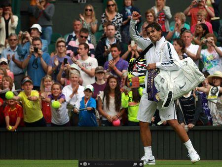 Rafael Nadal Wimbledon 2012 1st R Win g
