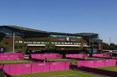 Wimbledon Dressed for Olympics 2012 g 1