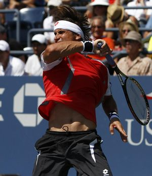 David Ferrer US Open.12 3rd R Win