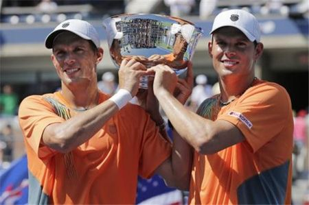 Bryan Brothers US Open.12 Men's Doubles Winners