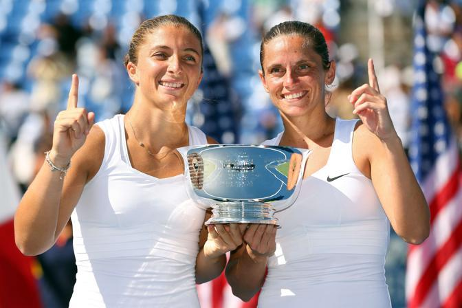 Sara Errani & Roberta Vinci US Open.12 Women's Doubles Winners