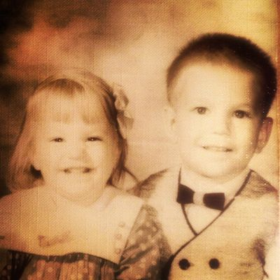 Chux & Nancy as Tots