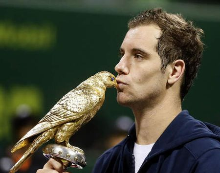Richard Gasquet Doha 2012 Winner