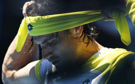 David Ferrer Australian Open 2013 4th Round Win