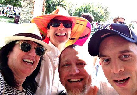 We 4 at Indian Wells 2013 - Copy