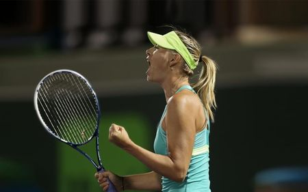 Maria Sharapova Miami 2013 Sf Win