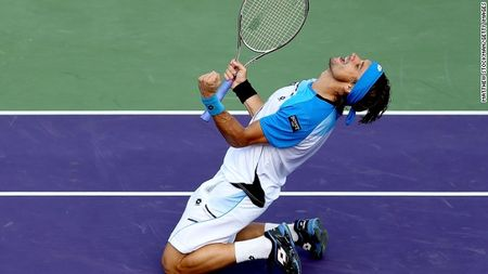 David Ferrer Miami 2013 Sf Win