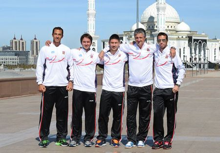 Czech Davis Cup Team 2013 Qf Win