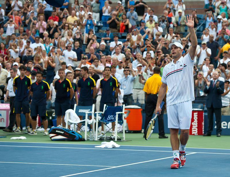 Andy Roddick US Open.12 Retires 2