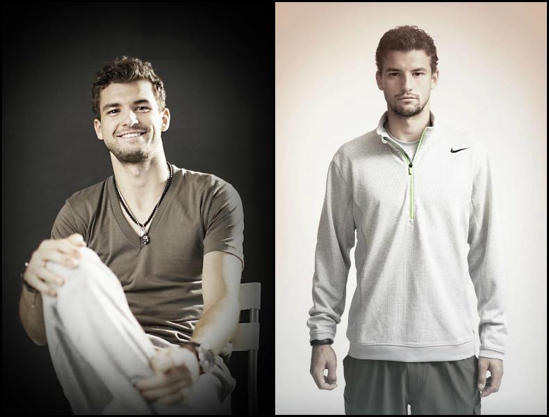 Grigor Dimitrov at Nike Collage