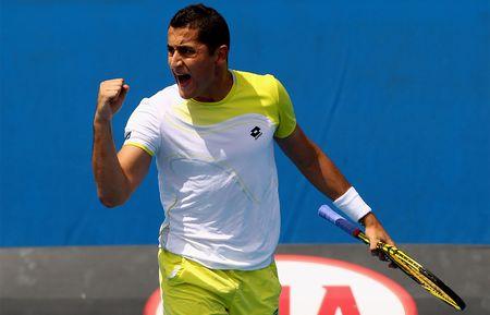Nicolas Almagro Australian Open 2013 1st Round Win