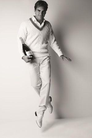 Roger Federer Twinkle Toes