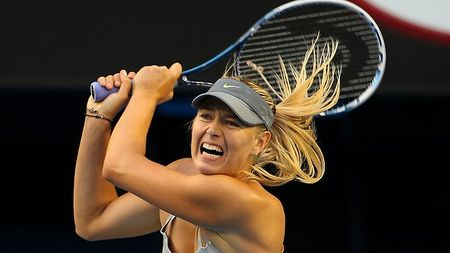 Maria Sharapova Australian Open 2013 4th Round Win