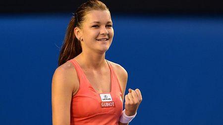 Agnieszka Radwanska Australian Open 2013 4th Round Win