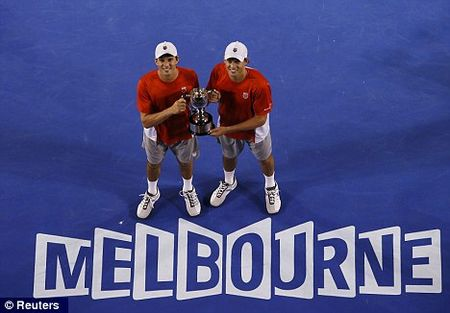 Bryan Brothers Australian Open 2013 Doubles Winners 2