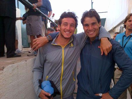 Rafael Nadal & Juan Monaco Chile 2013 1st Round Win