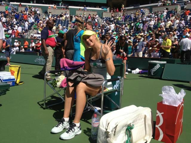 Maria Sharapova Indian Wells 2013 Winner