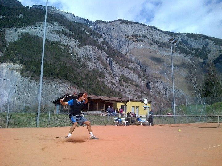 Roger Federer Clay Season 2013 Practice