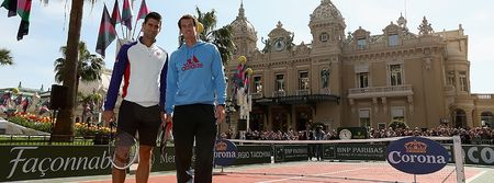 Novak Djokovic Andy Murray Monte Carlo 2013 Event