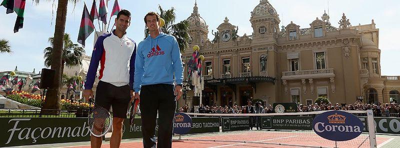 Novak Djokovic Andy Murray Monte Carlo 2013 Event